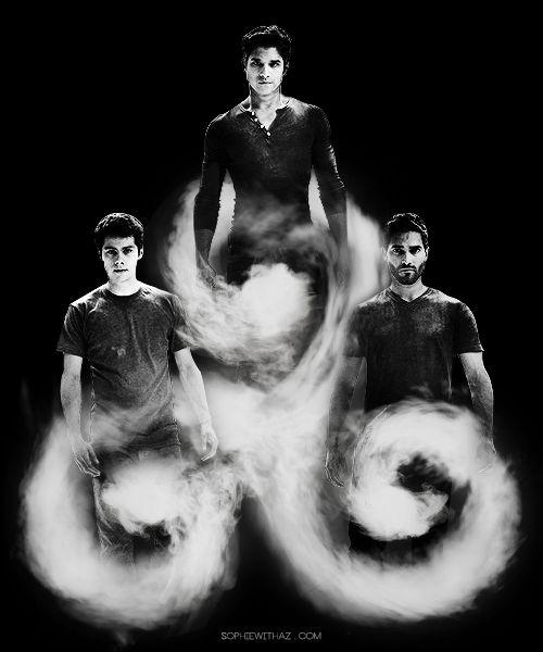 Teen Wolf - Tyler Hoechlin ,Tyler Posey and Dylan O'Brien