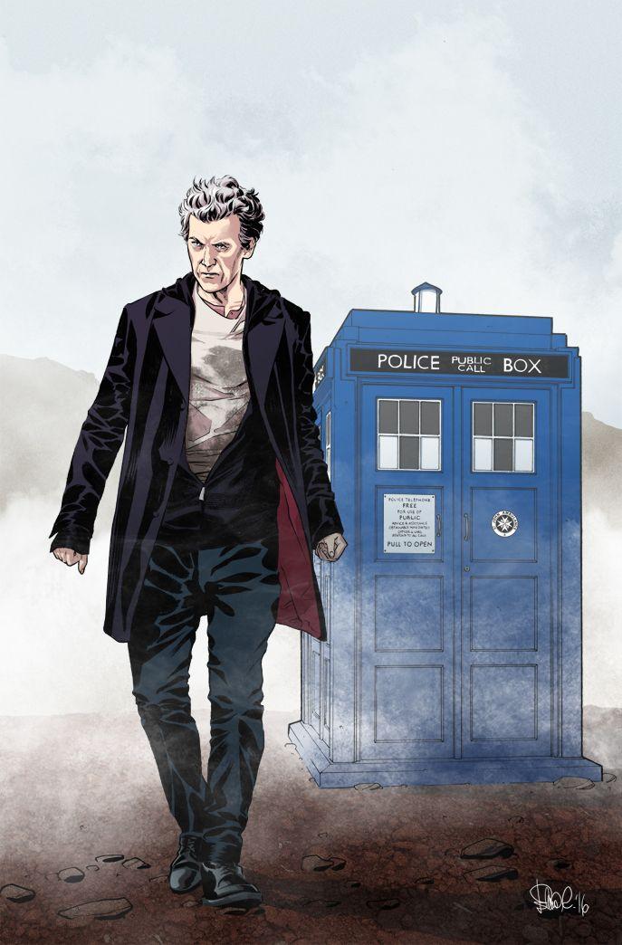Doctor Who - German variant cover by elena-casagrande on DeviantArt