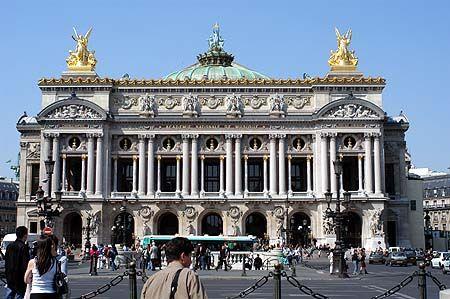 Romantiek (neo-barok). De opera door Garnier, Parijs.