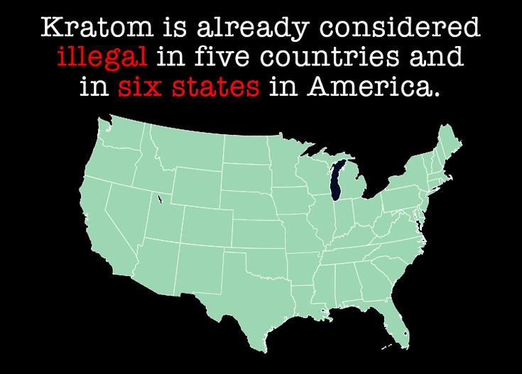 Kratom addiction in the US. Its already illegal in 5 countries and six states in America.