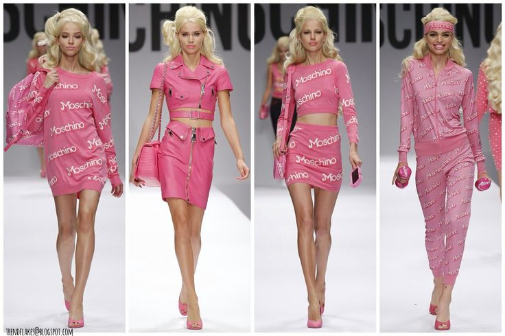 Trend Flakes: Moschino S/S 2015 // I'm a Moschino Girl in a Barb...