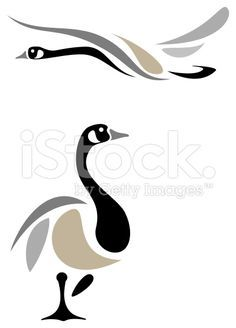 abstract painting canadian goose | 1000+ ideas about Goose Tattoo on Pinterest | Tattoos, Brooklyn Tattoo ...