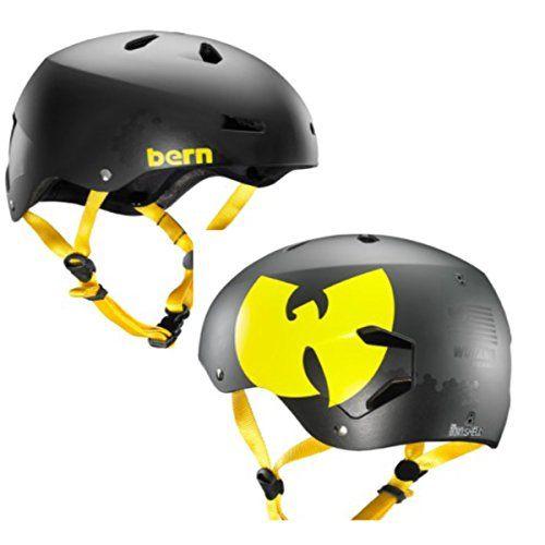 BMX Helmets - Bern 2015 Mens Macon EPS Wutang Summer BikeSkate Helmet ** Click on the image for additional details.