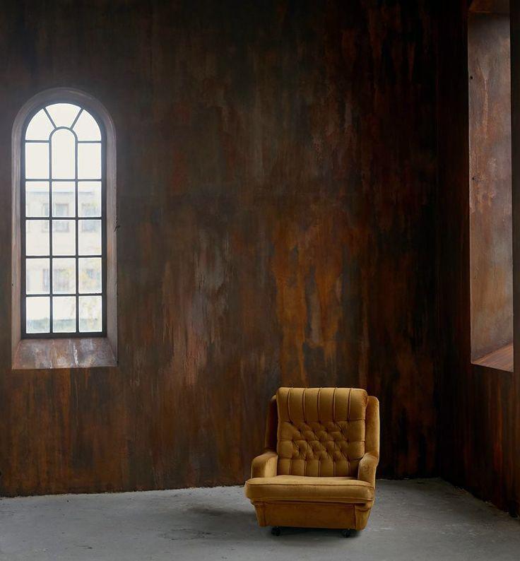 Wall #ironic in Osy Studio  #novacolor #rust #interiordesign #interior