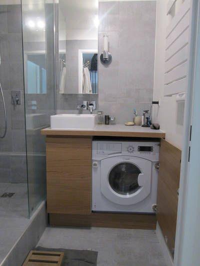 miniature Rénovation d'une  petite salle de bains, Paris, Coralie Balléry - décorateur d'intérieur