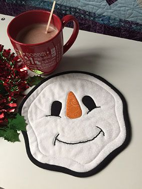 Mister Snowman Trivet Pattern Download