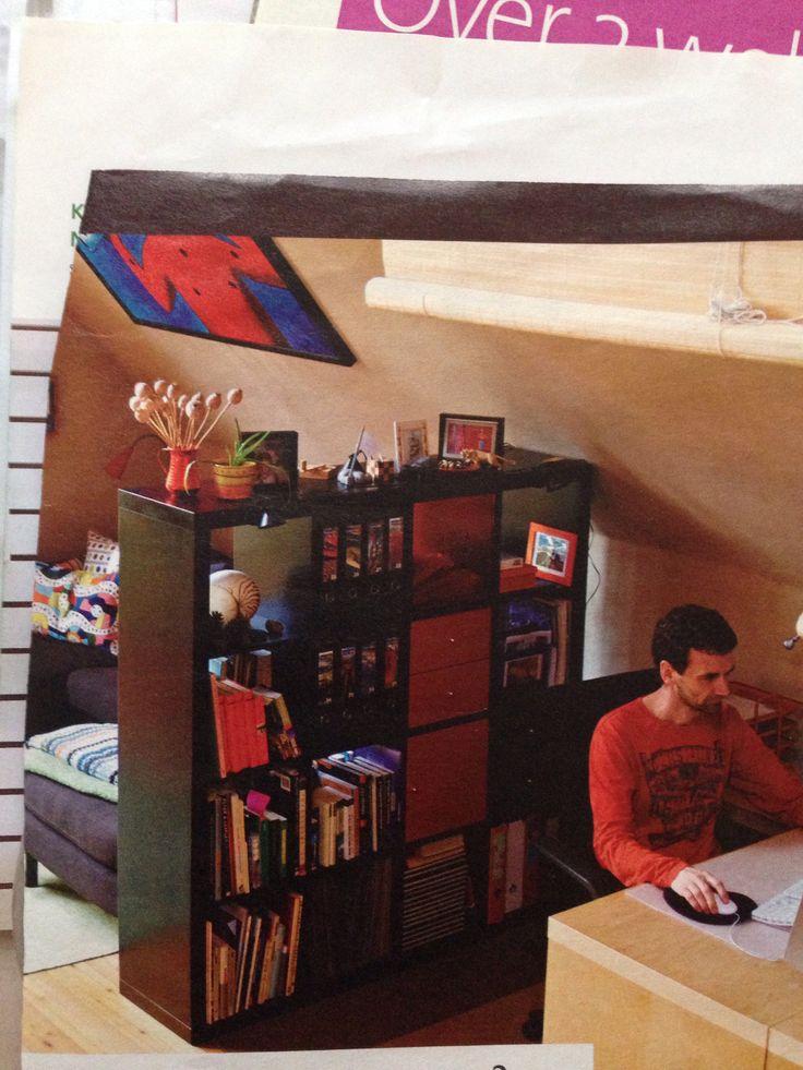 Scheidingswand/boekenkast