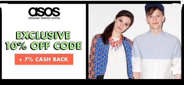 Get 10% off AND an extra 7% cash back at http://www.studentrate.com/all/get-all-student-deals/ASOS-Student-Discount--/0 enter promo code: STUDENTRATE10ASOS