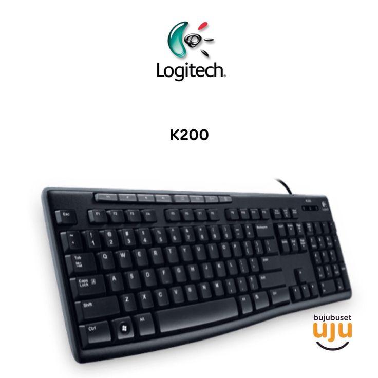 Logitech Classic keyboard K200 Black USB Media Keyboard  IDR 135.000