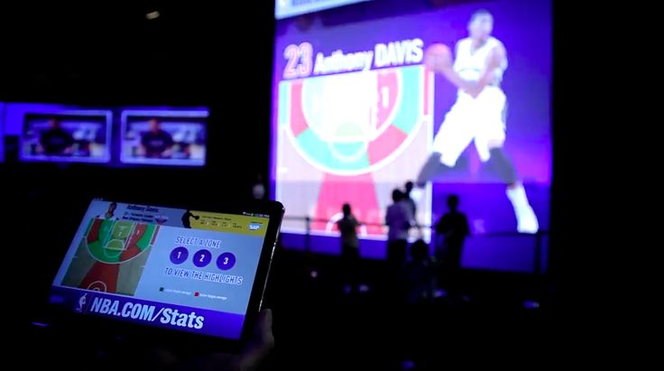 NBA's interactive exhibit in New Orleans scores three-points for fans by melding live games, team stats, and product promotion in one interactive place #VersatechInternational
