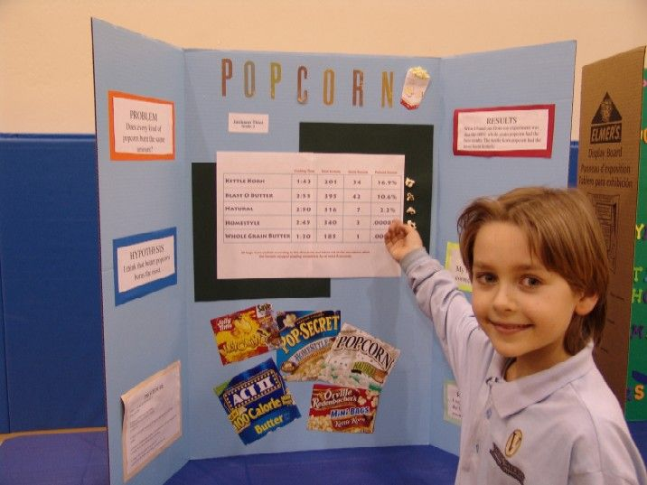 Popcorn science project research paper