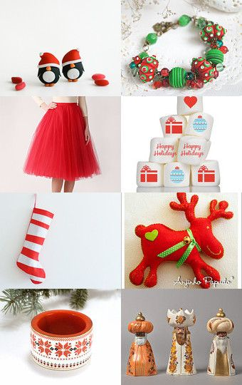 Jingle Bells.... by Mandarina on Etsy--Pinned with TreasuryPin.com