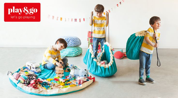 Play&Go bag in 3 steps! Let's go playing!