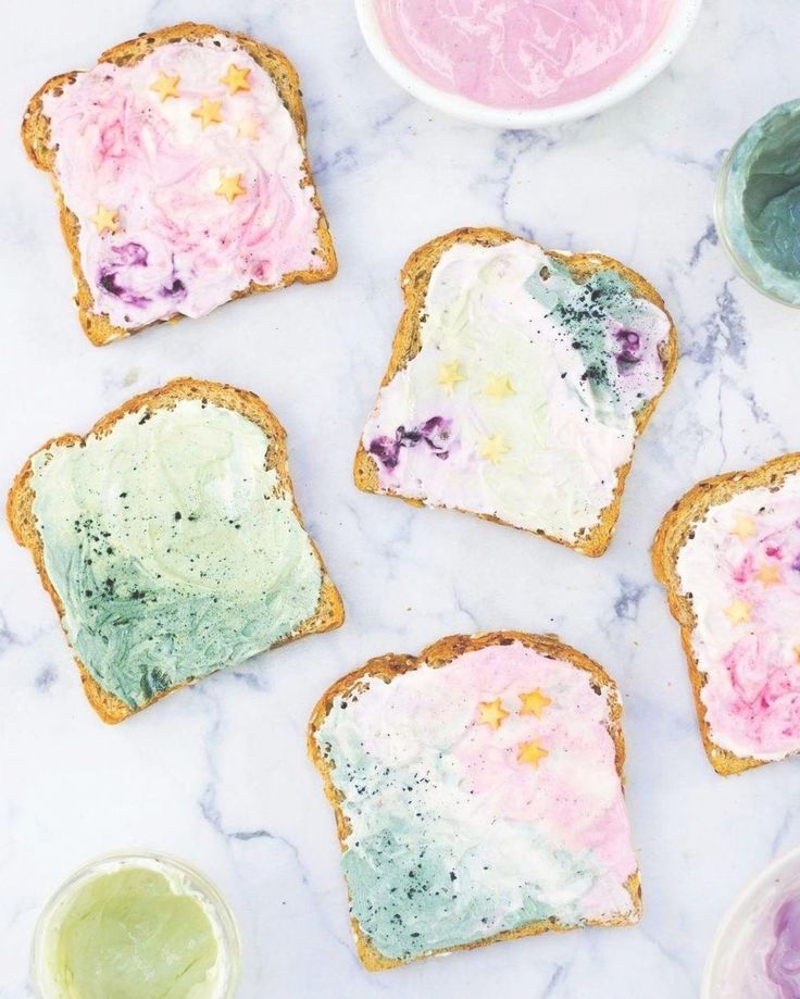 Mermaid Toast is the latest Instagram food trend you will fall in love with. – food instagram