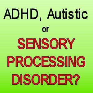 Kindergarten & Preschool for Parents & Teachers: ADHD, Autistic or Sensory Processing Disorder?