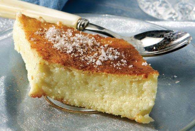 the traditional greek milk pie!!!/ argiro.gr