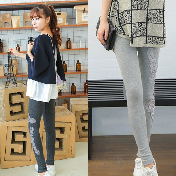 2015 Summer Lace Maternity Pants For Pregnant Women Clothes Thin Pregnancy Leggings Pierced Maternity Trousers