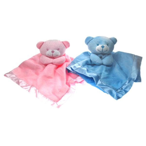Cute satin & fleece Teddy Comforters by Soft touch (bac0823)