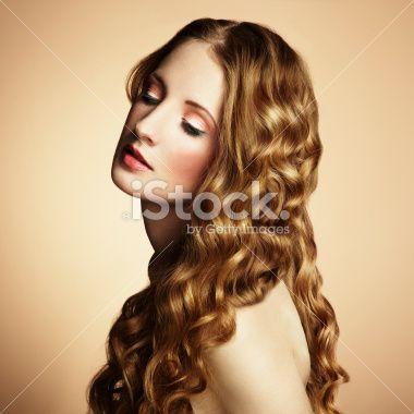 Cheveux, Sensualité, Mannequin, Démodé, Adulte Photo libre de droits