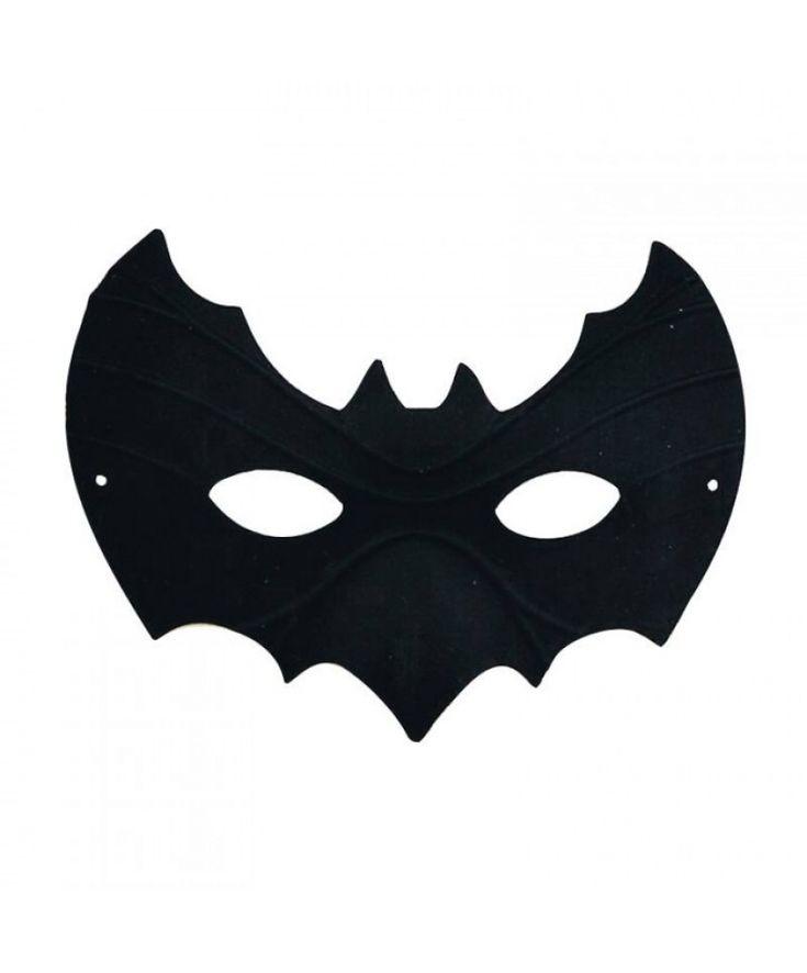 Простая черная маска в виде летучей мыши — http://fas.st/maWRdx