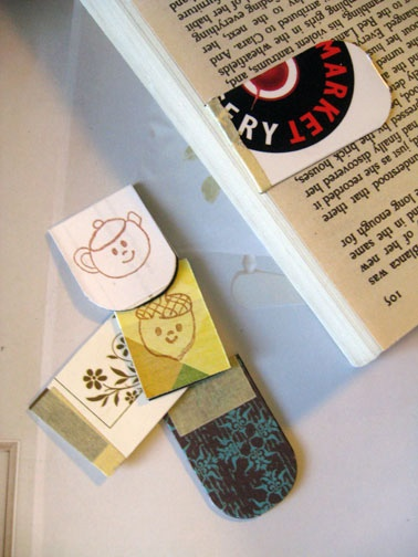 how to make magnetic bookmarks