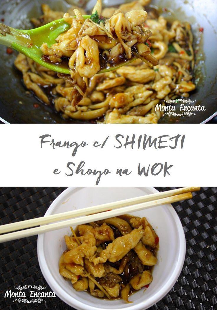Frango com Shimeji, Em poucos passos e alguns minutos, você dá um UP no franguinho do dia, transformando-o num almoço ou jantar estupendo.