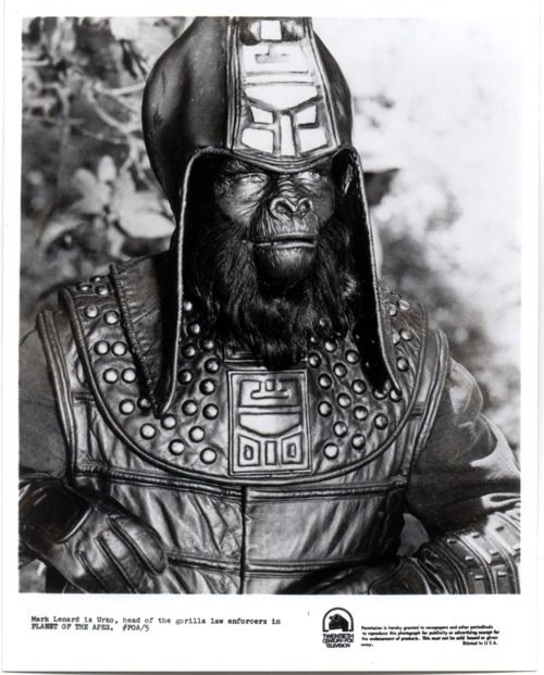 Planet of the Apes: Mark Lenard as Urko