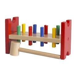 MULA Toy hammering block - - IKEA