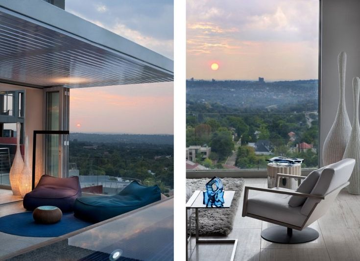 Luxury Triplex Penthouse in Johannesburg by SAOTA and OKHA Interiors | HomeDSGN, a daily source for inspiration and fresh ideas on interior design and home decoration.