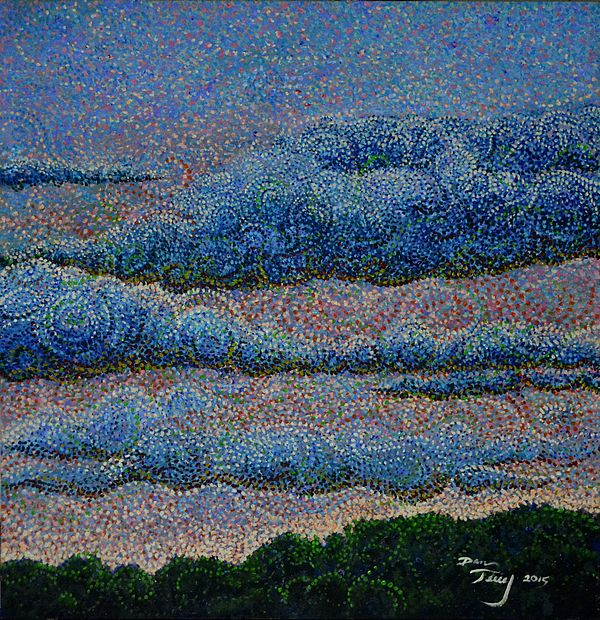 """She said """"Paint the Wind!"""" impressionism art for sale at http://fineartsamerica.com"""