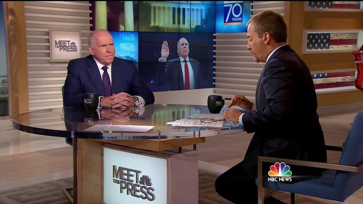 "In an exclusive interview on Meet the Press, Former CIA Director John Brennan tells Chuck Todd that the president's approach to Russian President Vladimir Putin was ""dishonorable."""