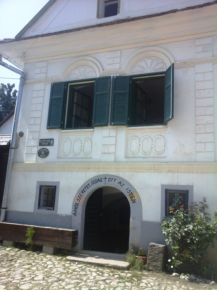 Traditional house in Torockó.