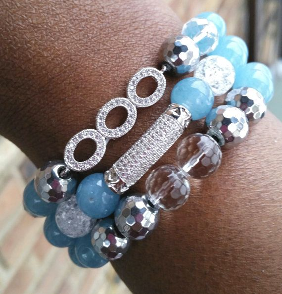 Hey, I found this really awesome Etsy listing at https://www.etsy.com/listing/227149004/posh-gemstone-stretch-beaded-stacked