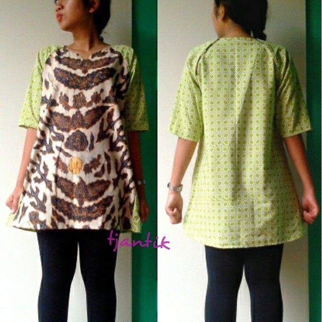 batik lawasan in modern look