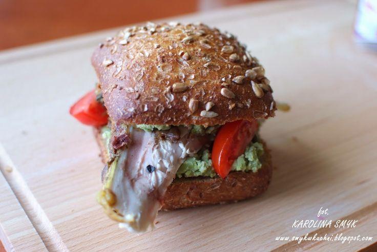 SmykWKuchni: Sandwich z bobem i kurczakiem!