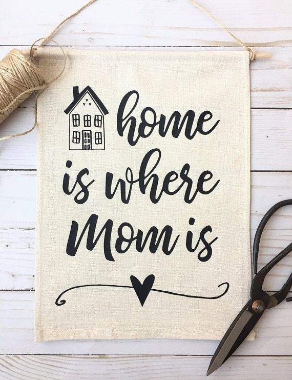 Mothers Day Gift From Daughter Gifts For Mom Home Is Where Idea Moms Birthday Her