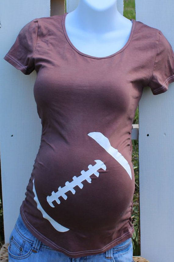 Hey, I found this really awesome Etsy listing at https://www.etsy.com/listing/261840229/football-maternity-shirt-4th-of-july