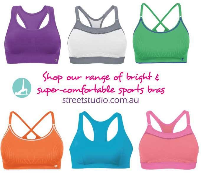Leluu & Champion Sports Bras. Available instore @ streetstudio.com.au
