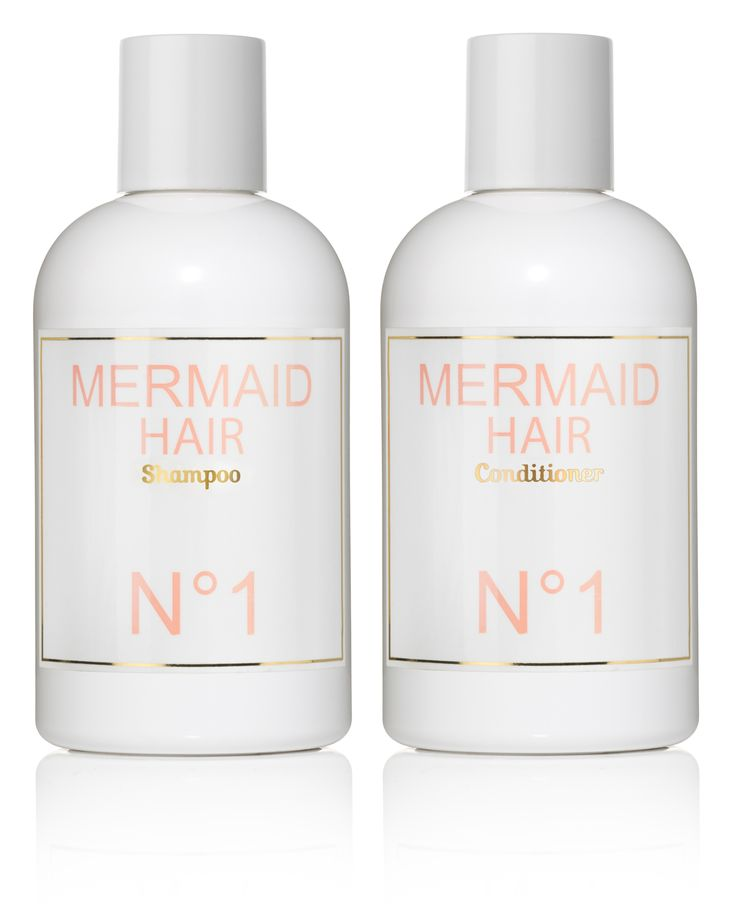 mermaid hair shampoo & conditioner. for gorgeous hair that smells like the…