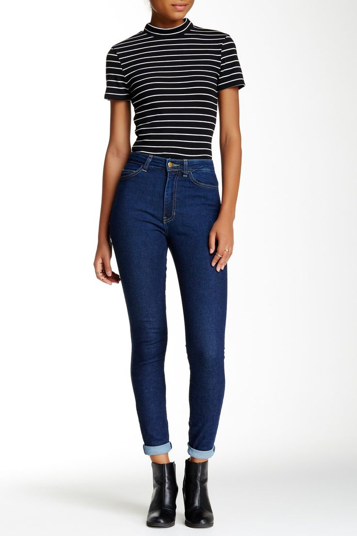 Stretch Pencil Jean by American Apparel on @nordstrom_rack