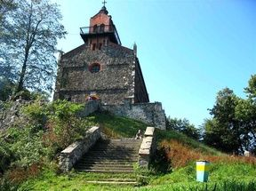 Old church on the Sleza hill, Poland