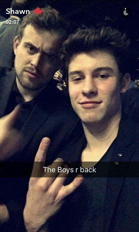 Shawn mendes snapchat 2016