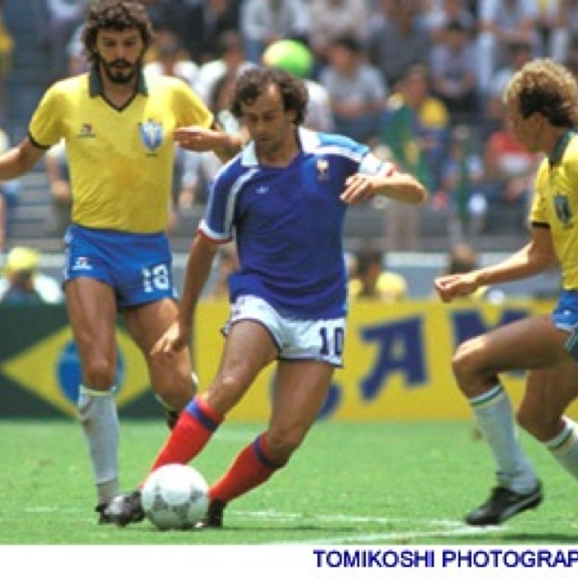 Platini - in the best match in my memory