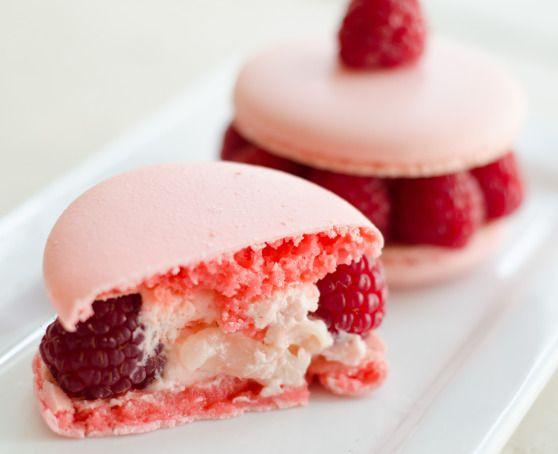 Pierre Herme's Ispahan Macarons | The Baked Road