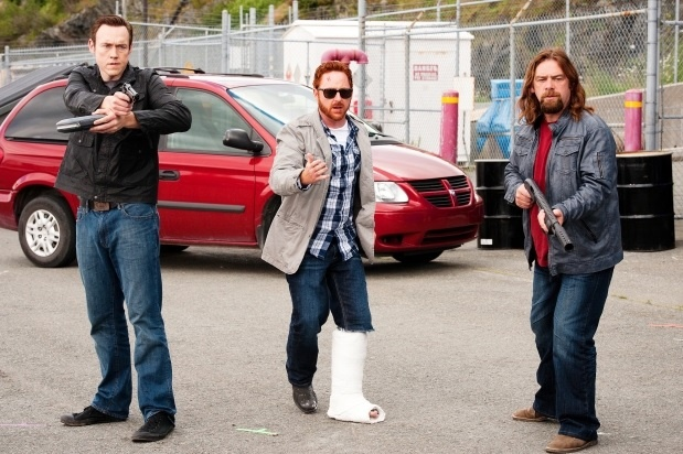 Republic Of Doyle - Kevin Durand, Scott Grimes, and Alan Doyle