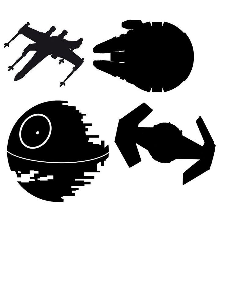 Star Wars Paper Play Ships