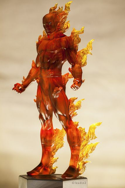 Johnny Storm Human Torch | Statue | Bowen Designs
