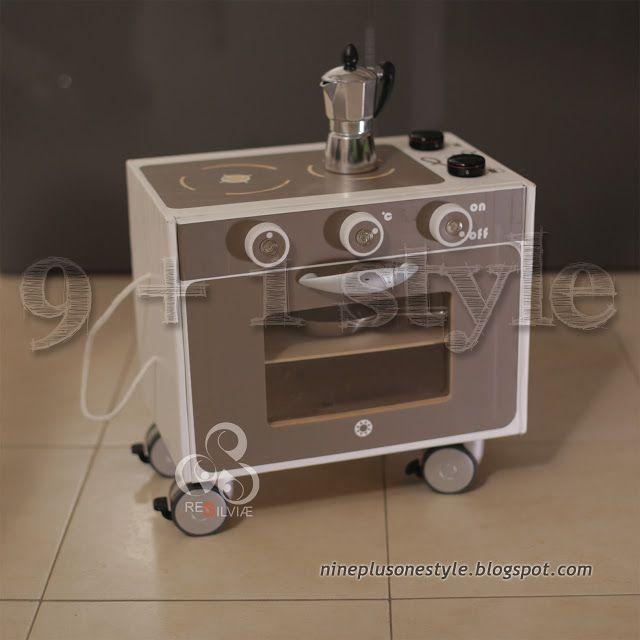 Da scatola a cucina giocattolo - From box in toy kitchen
