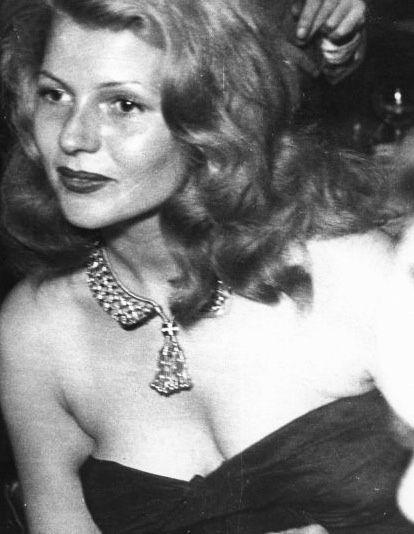 "ritasgirl:""She was a beautiful, talented, warmhearted woman who had the greatest sense of humor."" - Princess Yasmin Aga Khan"