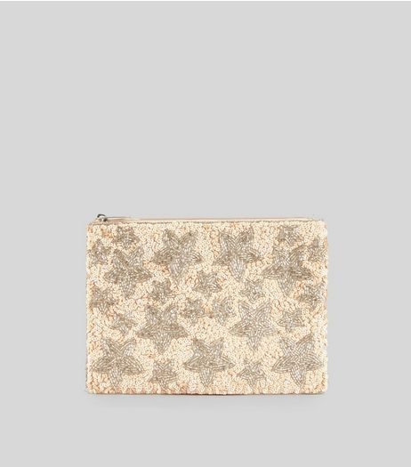 Sequined and Embellished Clutch from New Look £19,99